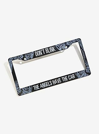Doctor Who Weeping Angels License Plate Frame,   Doctor Who ...