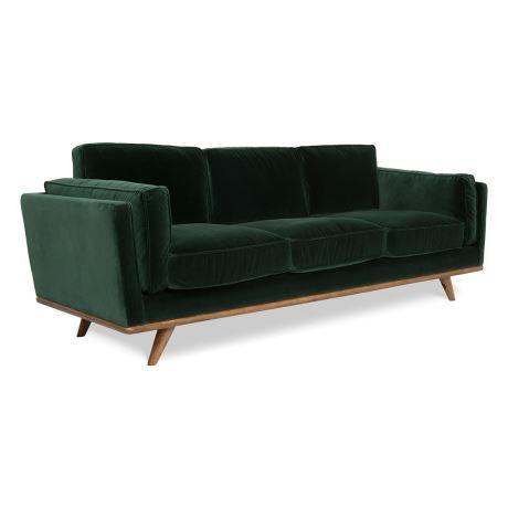 Dahlia 3 Seat Fabric Sofa 2 New Bohemian Interiors