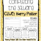 Completing the Square: Harry Potter Clues by Winning at Math | Teachers Pay Teachers