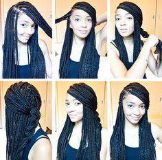 Sino elige esta otra opción. | 30 Asombrosos peinados con los que no necesitas usar secador