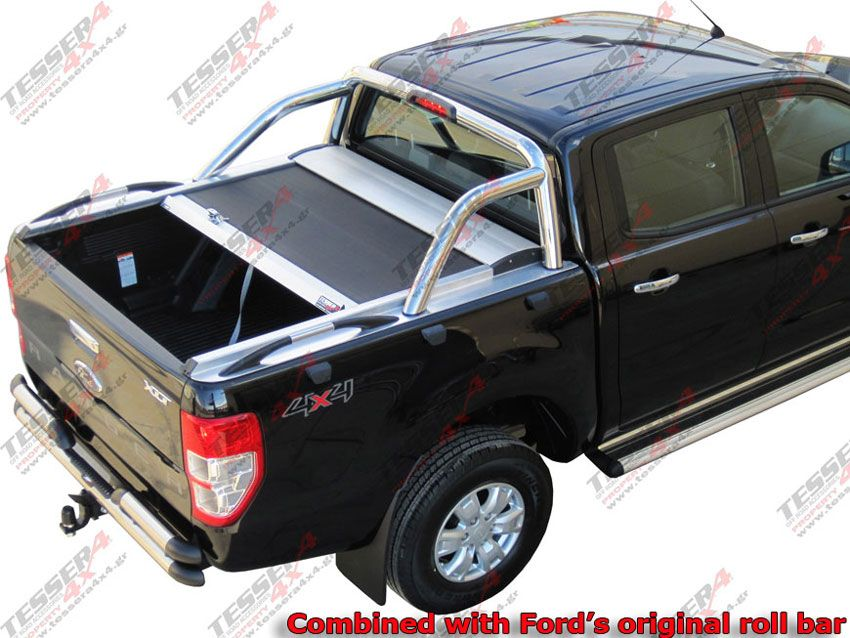 New Ford Ranger T6 With Original Ford S Roll Bar