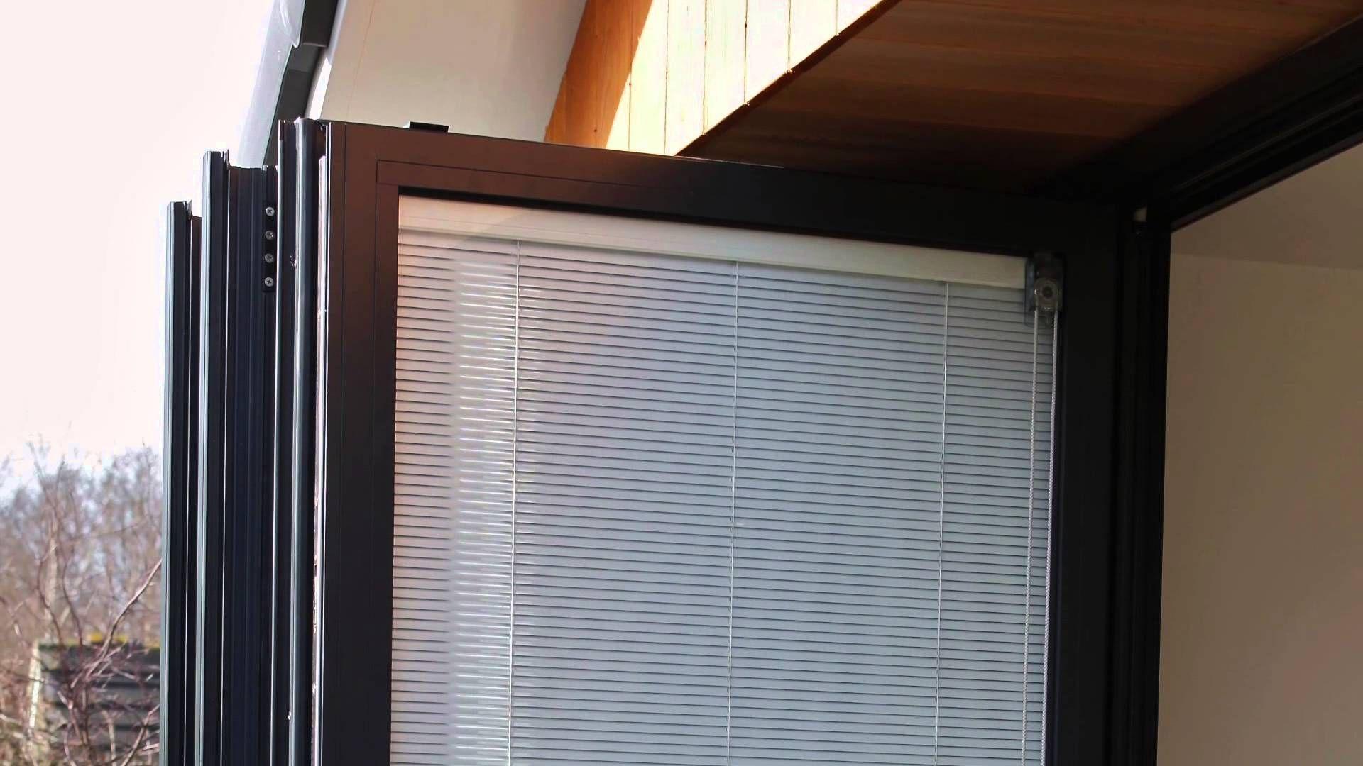 Discover bi fold door blinds fitted between glass top ten
