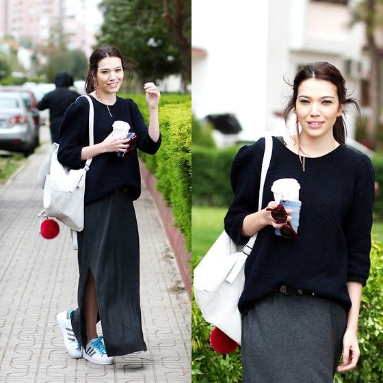 Get this look: http://lb.nu/look/7368956  More looks by Neslisah Cetin: http://lb.nu/neslisahcetin  Items in this look:  Furla, Cos, Adidas Superstar   #bohemian #casual #preppy