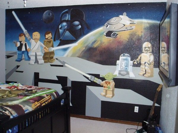 The 32 Geekiest Bedrooms Of All Time Sala De Star Wars