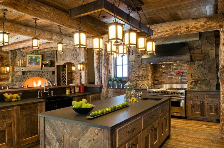 Fotos de cocinas r sticas e ideas para incorporar este for Cocinas rusticas italianas