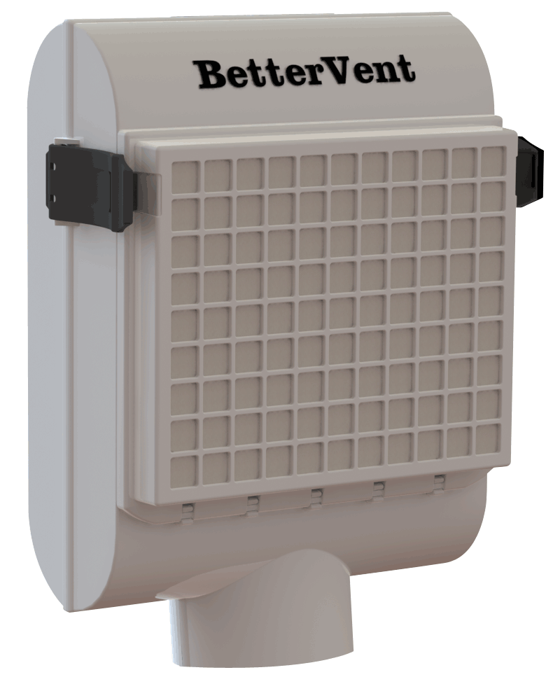 Does A Basement Bathroom Need A Vent: BetterVent Indoor Dryer Vent