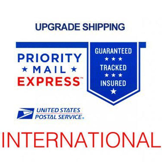 International Express Upgrade Add On Ads Priorities United