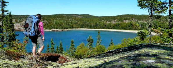 Worksheet. Pukaskwa National Park Day Hiking and Suggested Trips  CANADA
