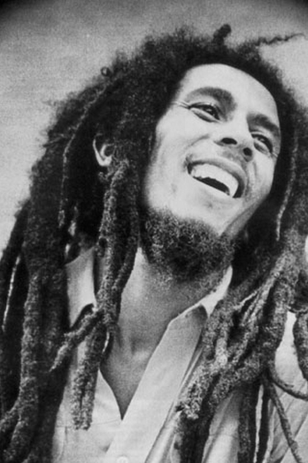 Bob Marley Head Shot Bw Android Wallpaper Creative Mind