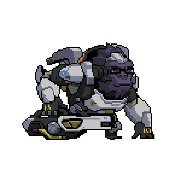 All Overwatch Pixel Sprays Transparent Png Format Overwatch Overwatch Winston Anime Pixel Art