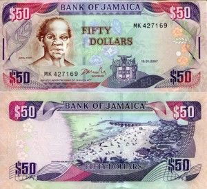 Jamaican Money Or The In Jamaica