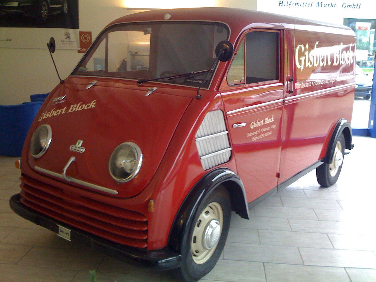 DKW Schnellaster, 1957