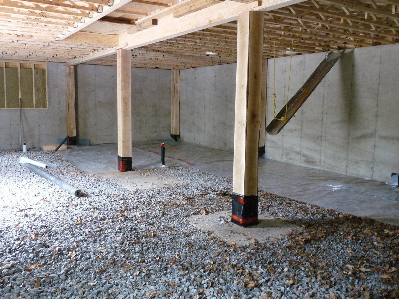 Basement Floor Framing A Timber Frame Homes Frames On