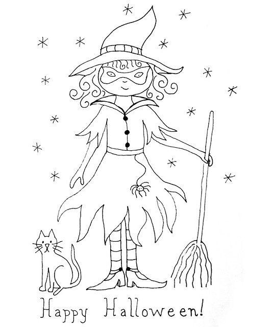 Free Halloween Embroidery Pattern | Halloween | Pinterest | Bordado ...