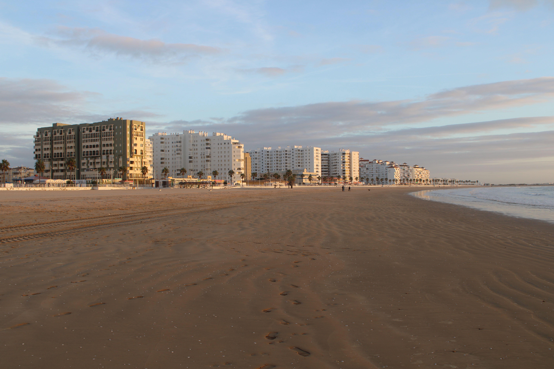 playa de valdelagrana en El Puerto de Santa María