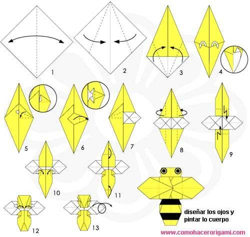 como hacer u origami