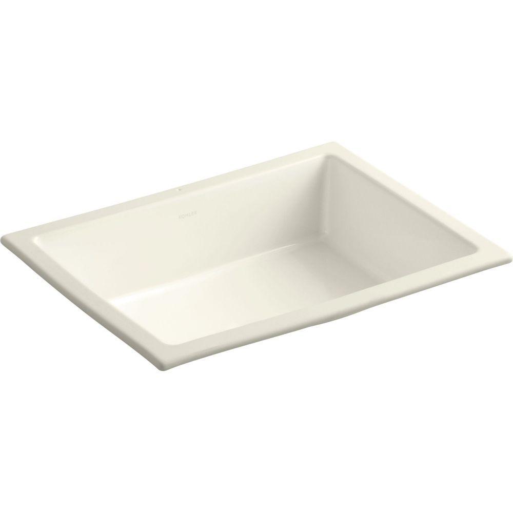 Kohler K 2882 0 Verticyl White Undermount Single Bowl Bathroom Sinks Efaucets Com 132 Tax Undermount Bathroom Sink Bathroom Sink Rectangular Sink Bathroom