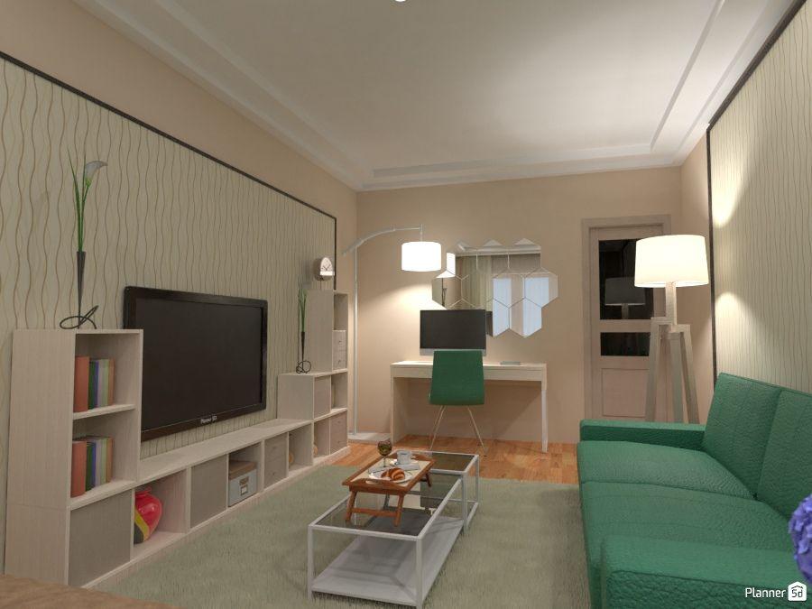 Charmant Living Room Interior, PLANNER 5D Interior Design Tools, Tool Design, Home  Design Software