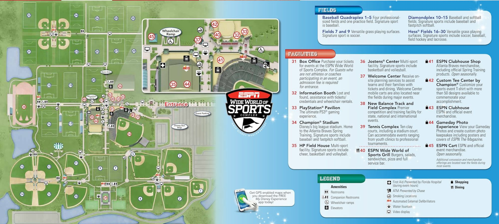 Espn Wide World Of Sports Map Disney World Parks Disney World Map Disney World Tips And Tricks