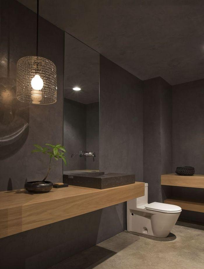 Top in legno per lavabo da appoggio belle foto - Bagni esterni in legno ...