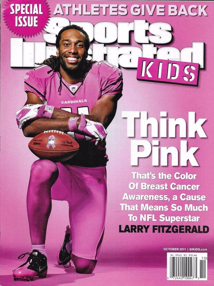 b2ab31c0 Sports Illustrated Kids magazine Larry Fitzgerald Special issue Paul ...