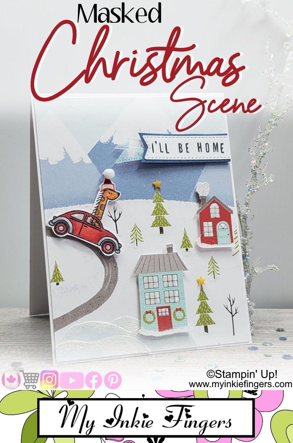 Stampin' Up! Christmas Card 2020 Stampin Up Mini Catalog