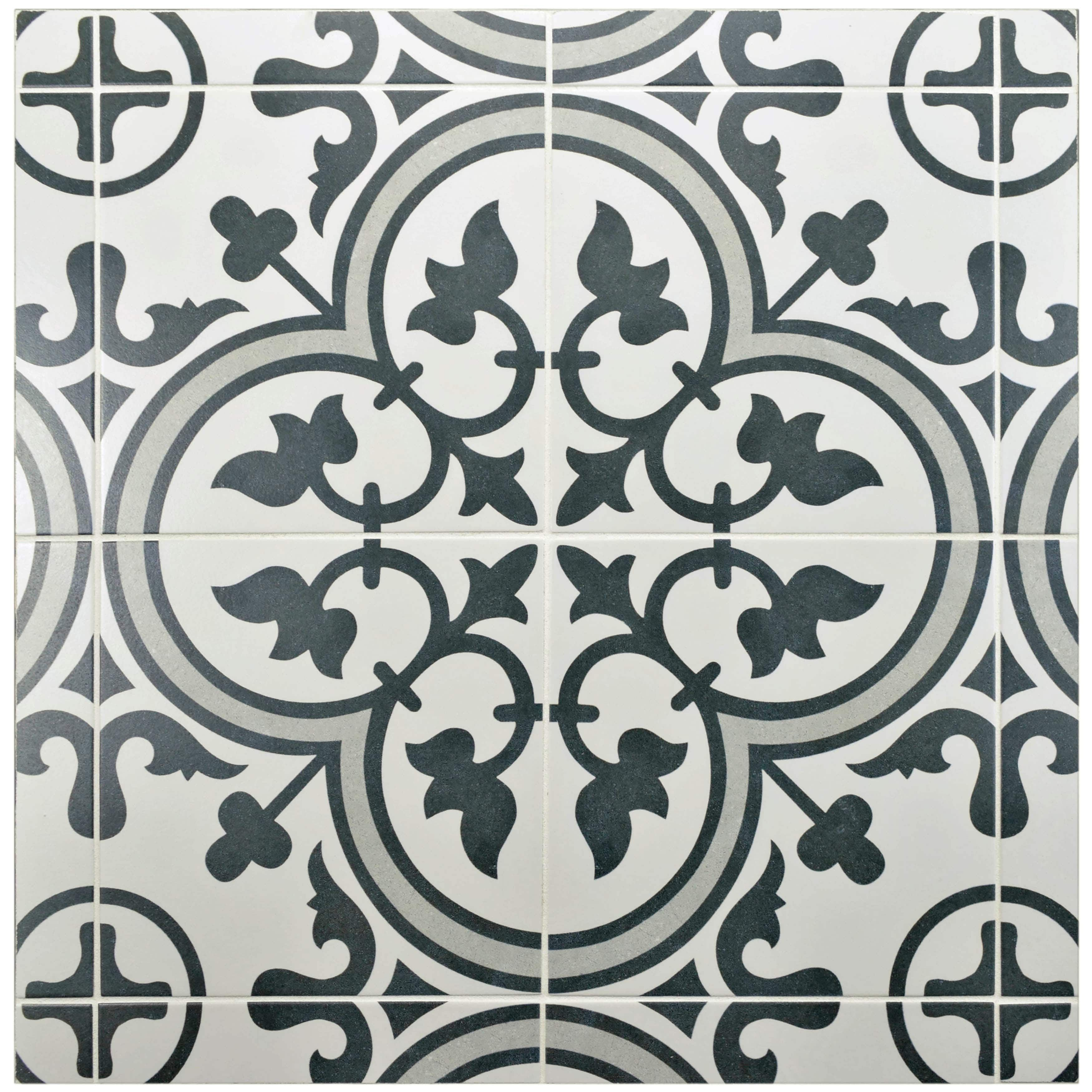 Somertile 975 x 975 inch art grey porcelain floor and wall tile somertile 975 x 975 inch art grey porcelain floor and wall tile case of dailygadgetfo Images
