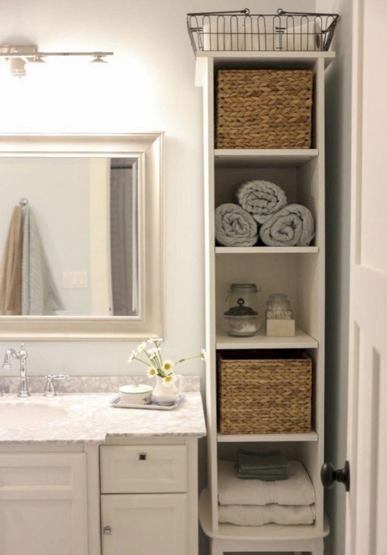 DIY Bathroom Storage Wall (2) Bathroomshelves