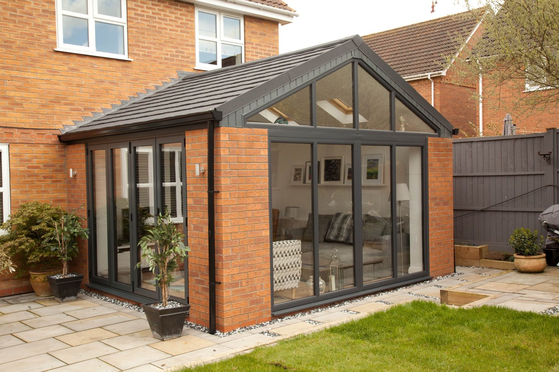 Solid Roof Sunrooms From Wessex Windows In Winchester Come