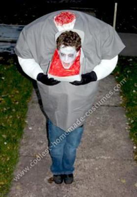Coolest Homemade Headless Boy Halloween Costume Boy Halloween
