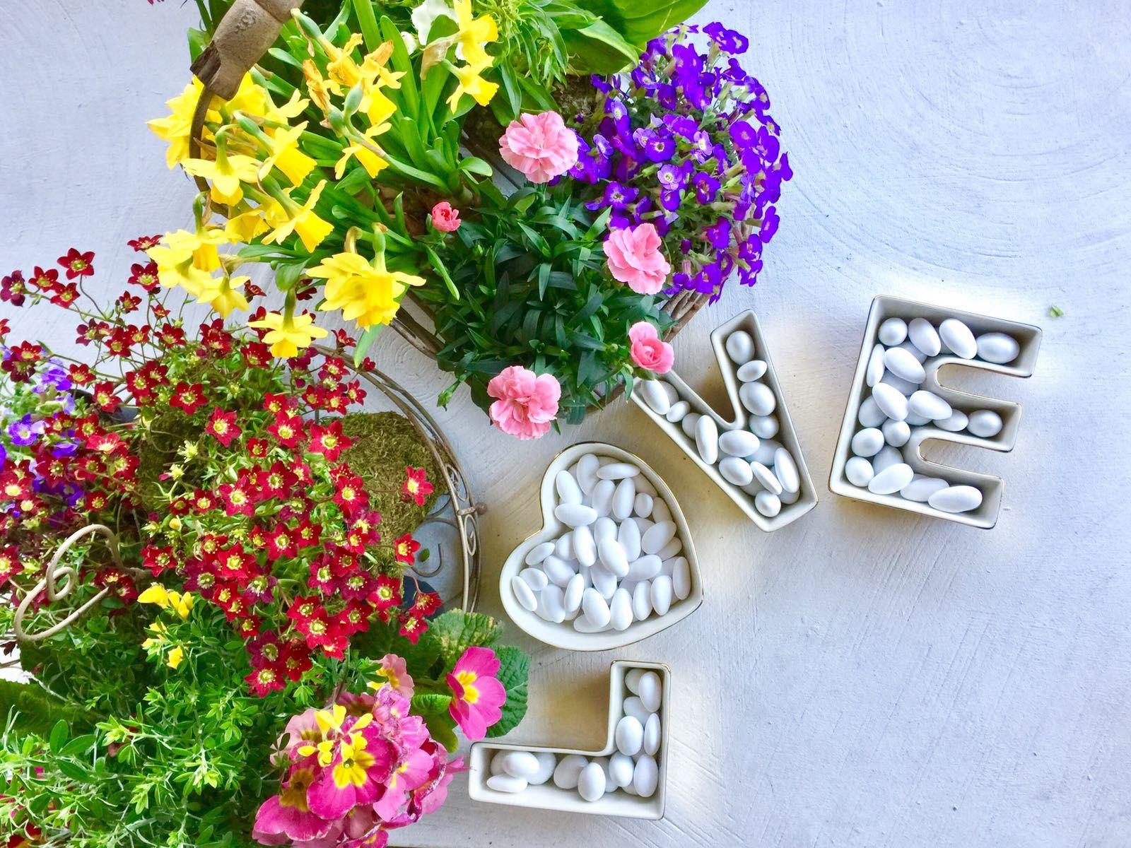 Fiori e confetti  www.greenandglam.it