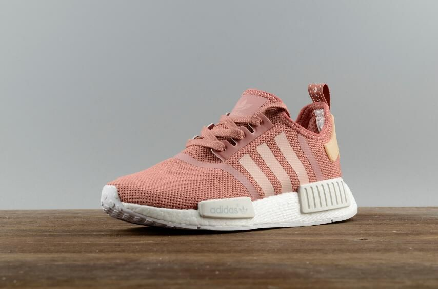c6a024d9f Adidas Originals NMD R1 W Magic Pink Real Boost S76006 Running Sport Shoes2