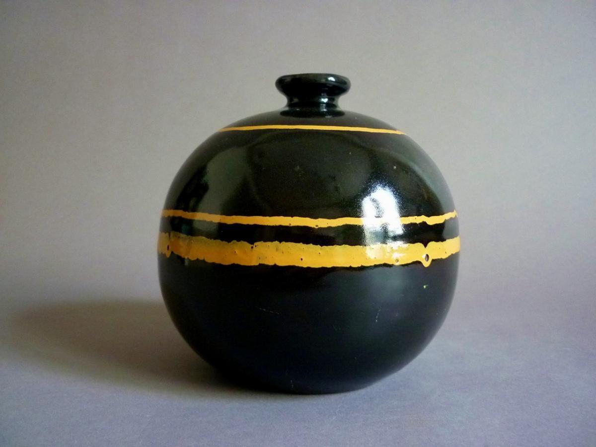 Francis jourdain vase en ceramique art deco 1920 1930 for Proantic art deco