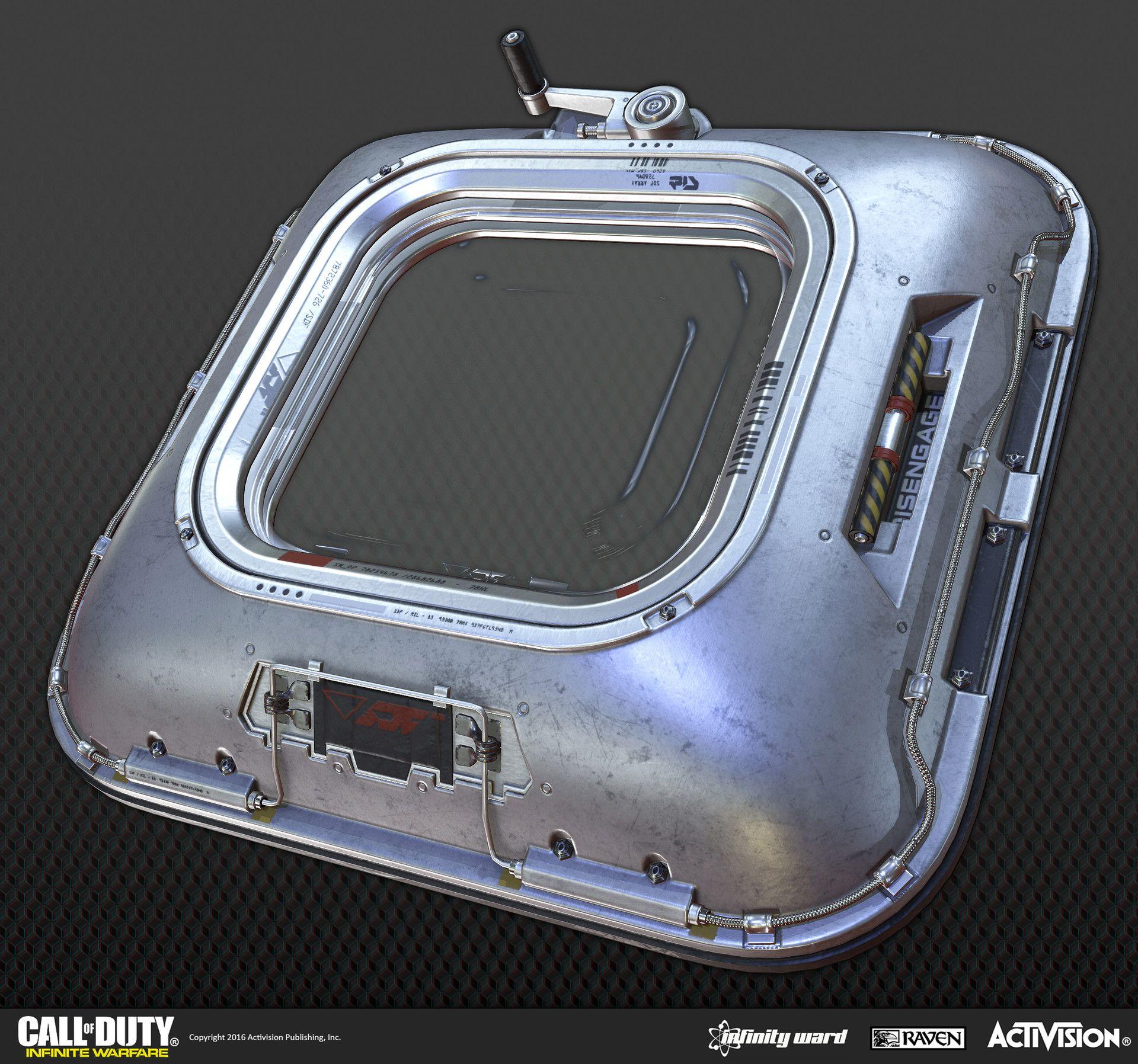 Artstation call of duty infinite warefare ship assaults alex kreeger sci fi hallway - Infinite warfare ship assault ...