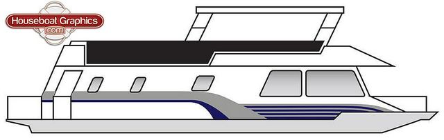 Houseboatgraphicsstriping Graphics And Mockup - Houseboats vinyl decals