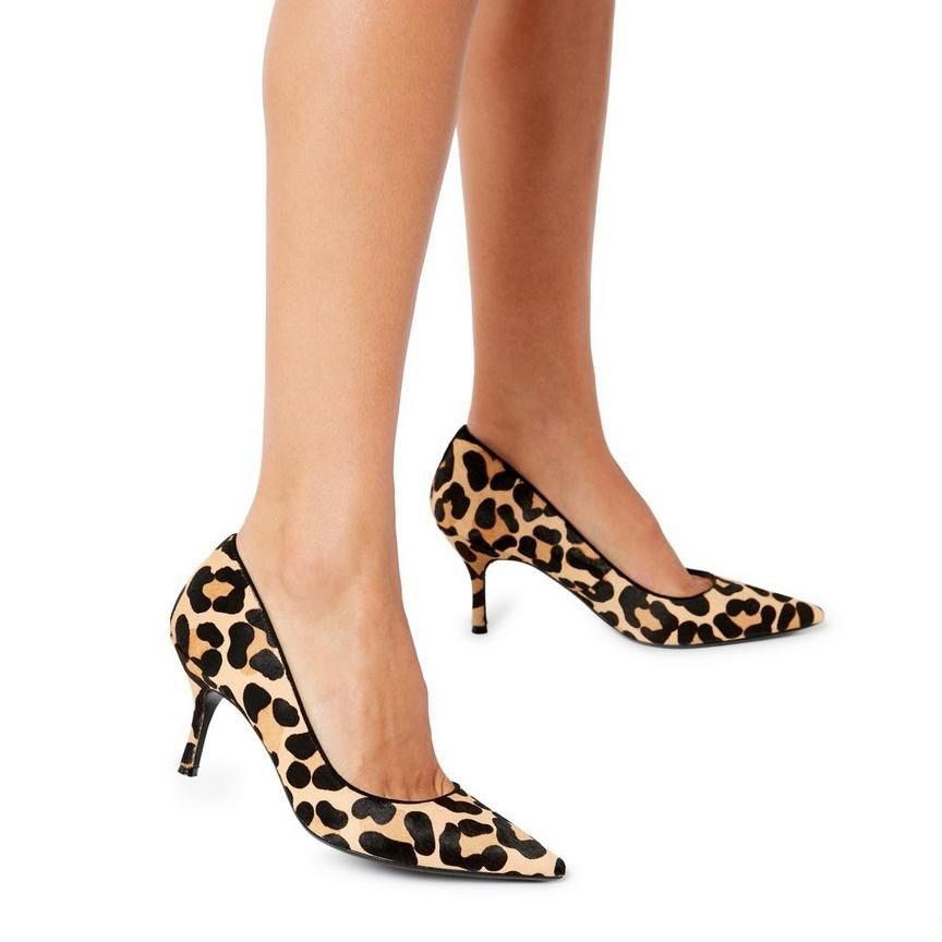 ad845093064 ANNCONA - Textured Court Shoe - leopard in 2019