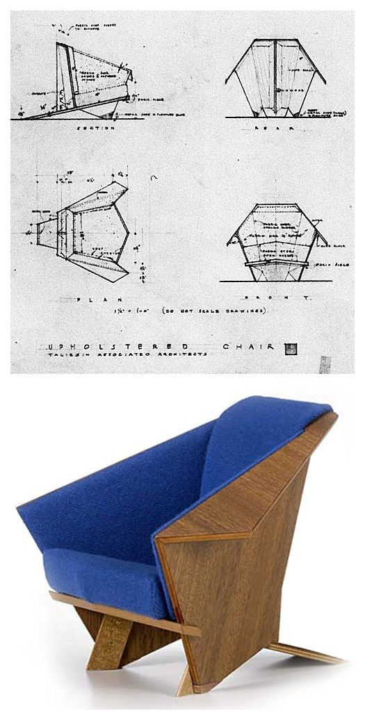 Frank Lloyd Wright Origami Wright Furniture Plans Woodworking Rustic Woodworking