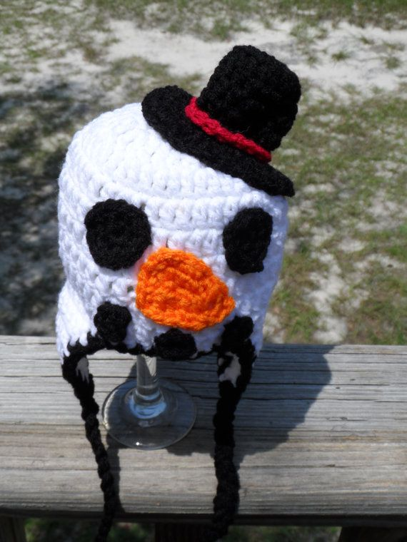 Snowman Newborn Photography Prop RTS by ApesCustomJewelry on Etsy, $20.00