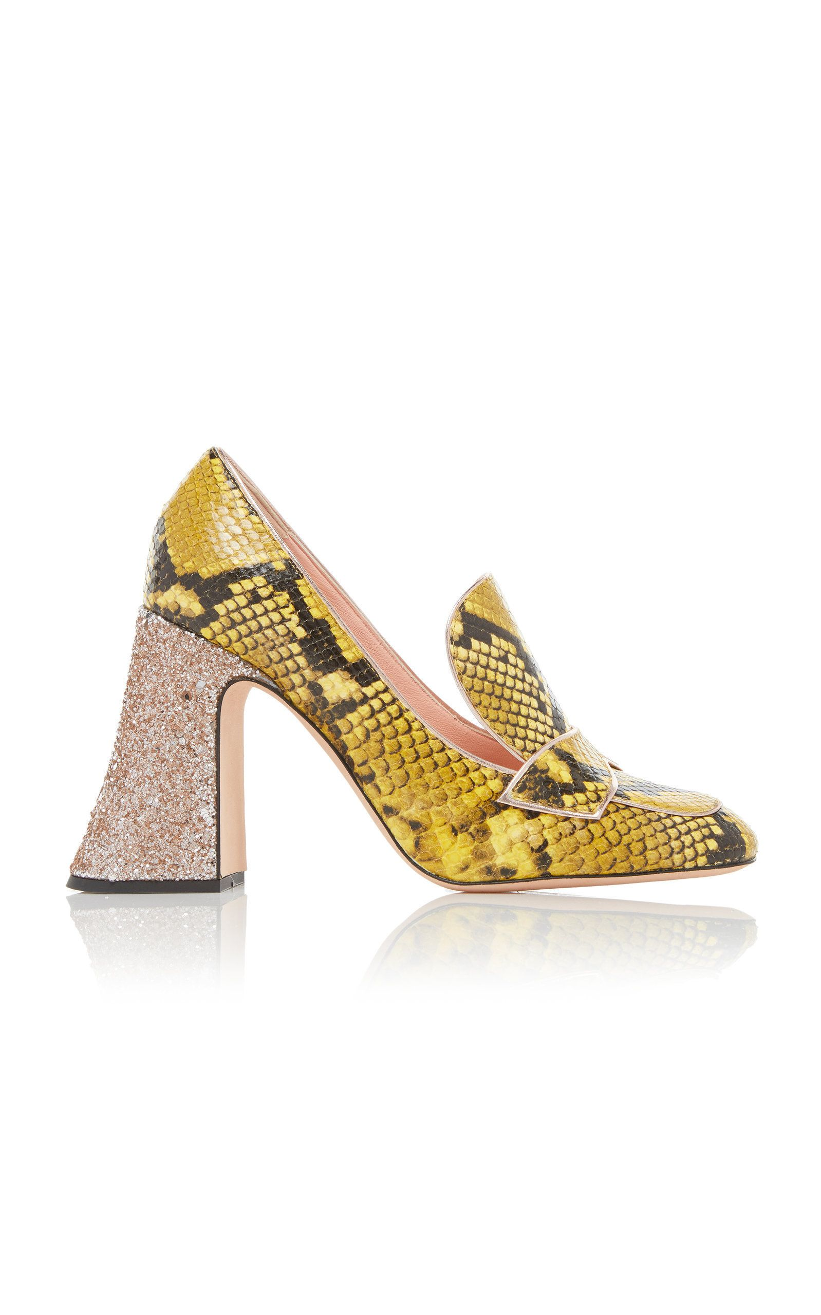 ROCHAS PYTHON HIGH HEEL PUMP.  rochas  shoes    3497f889a78c