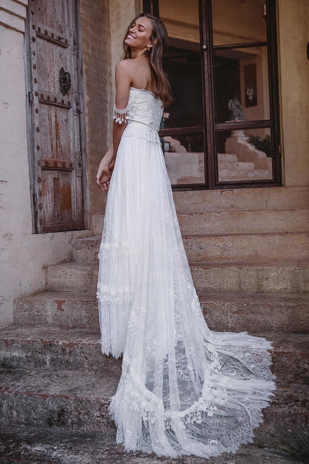 Southern belle wedding dresses  NEW Fabienne  Grace Loves Lace  future wedding  Pinterest  Weddings
