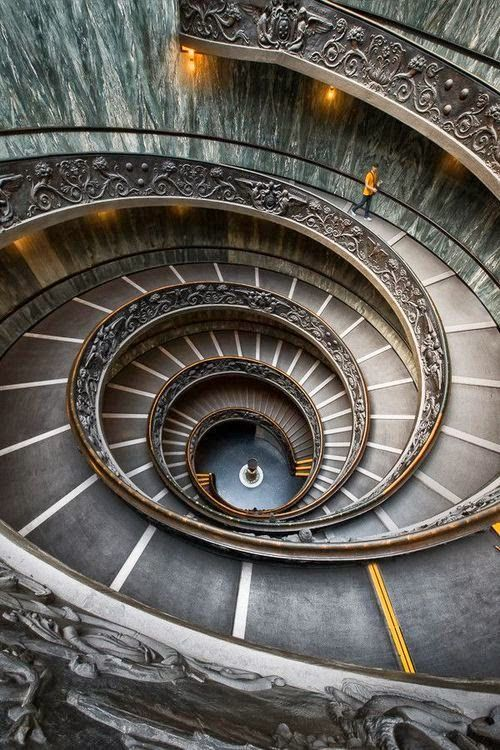 Top 20 Beautiful Stairs Spiral Staircase Vatican Museums