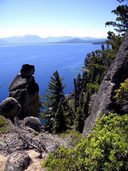 Lake Tahoe California Galaxy Note 3 Wallpapers Hd 1080x1920: RUBICON TRAIL VIEW OF LAKE TAHOE This Photograph Was Taken