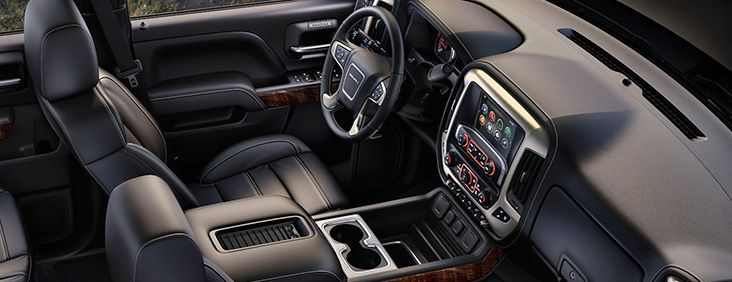 Interior The 2016 Gmc Sierra 2500 Denali Hd Pickup Truck Signifies Comfort And Quality With Attention To Detail And Premium Feat Denali Hd Gmc 2500 Sierra 2500