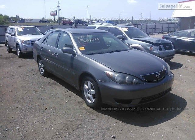 2005 Toyota Camry 4t1be32k15u988217 With Images Toyota Camry
