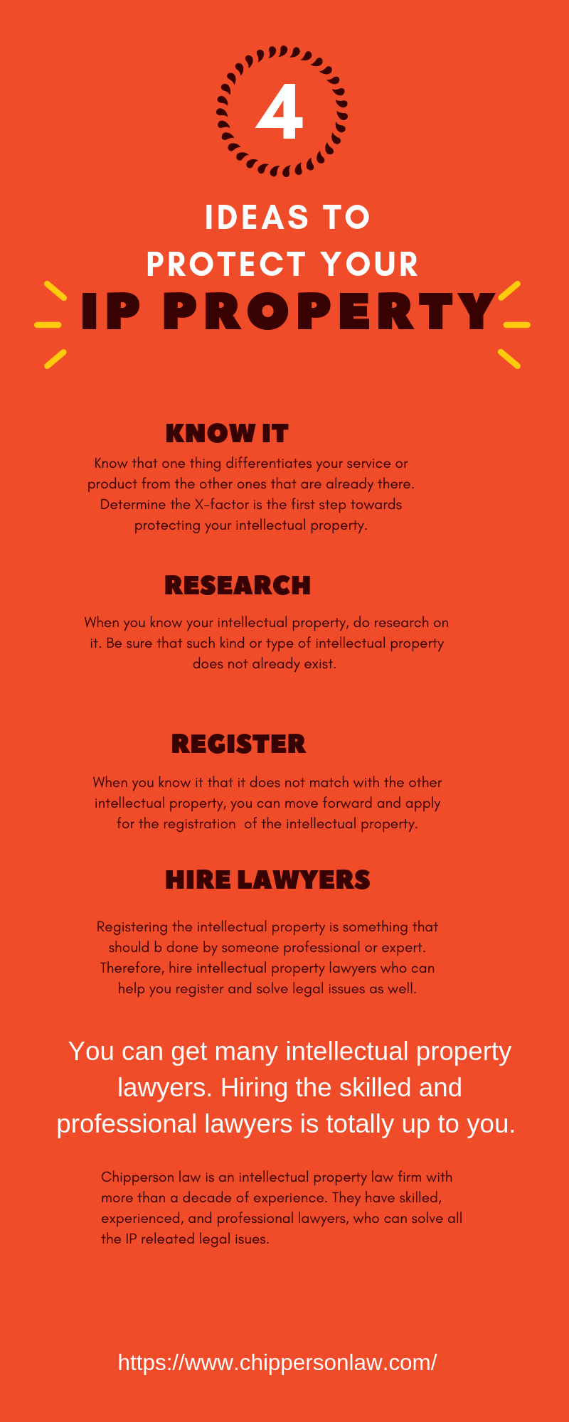 Ways to protect the intellectual property Intellectual