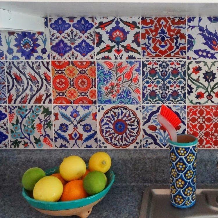 Bleucoin Tile Decal Backsplash: Bleucoin Tile Decal Backsplash