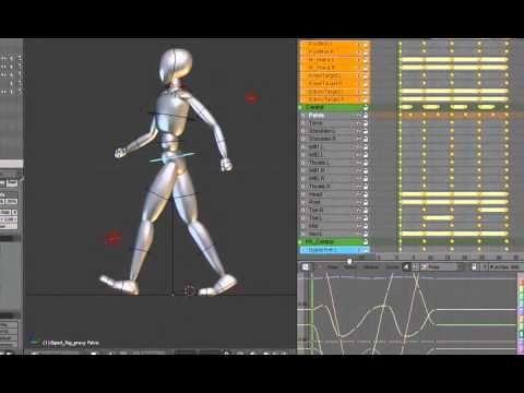 Blender training DVD 3:Learn Character Animation Using
