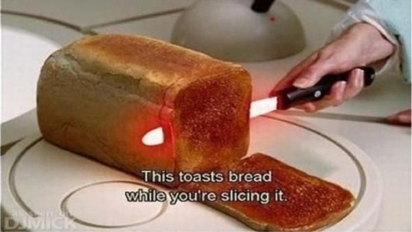 I found 'Bread Slicer That Toasts As You Cut!!!!!!!!!!!!' on Wish, check it out!