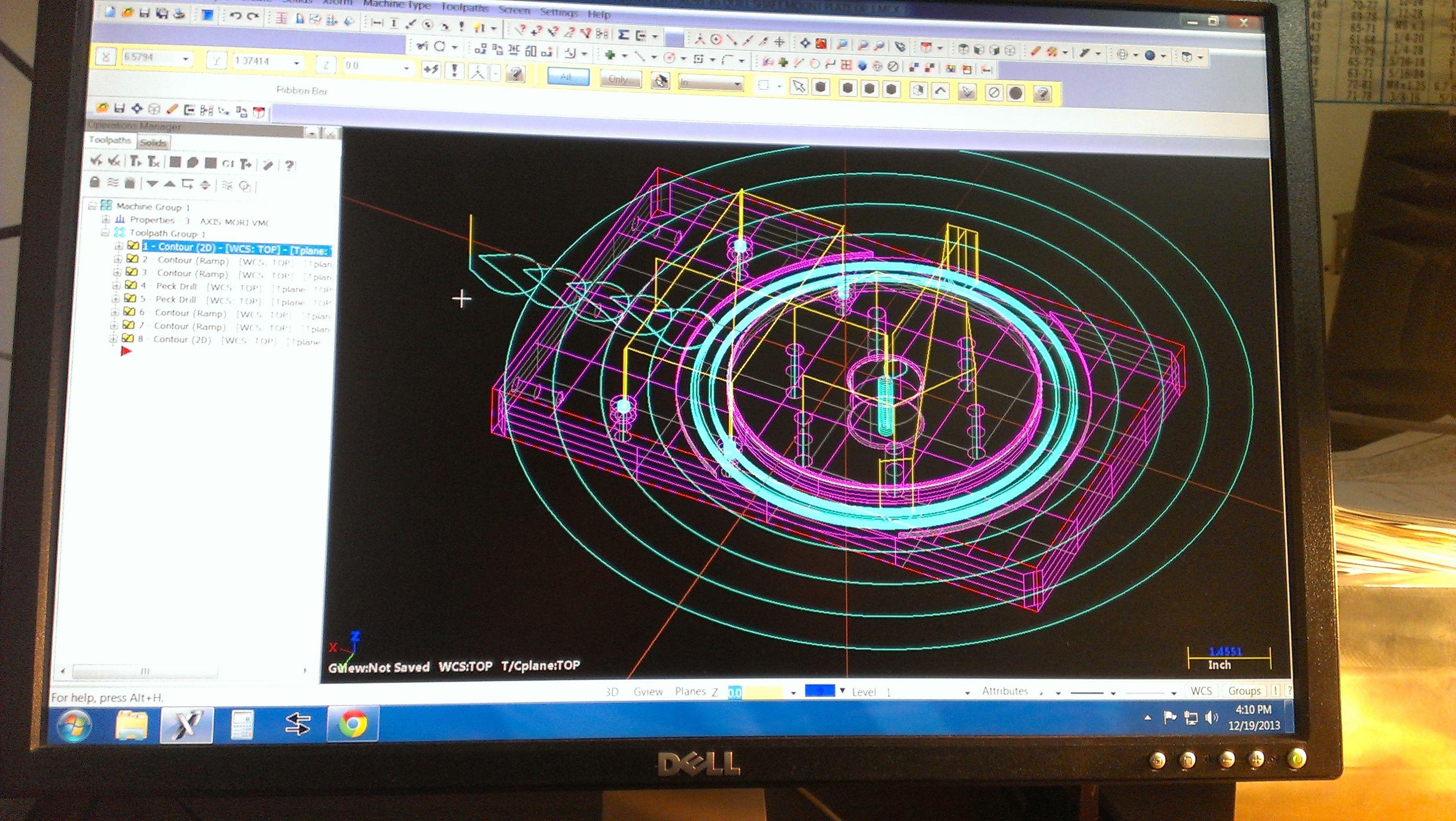 MasterCam X7 project | CNC | Cnc, Projects