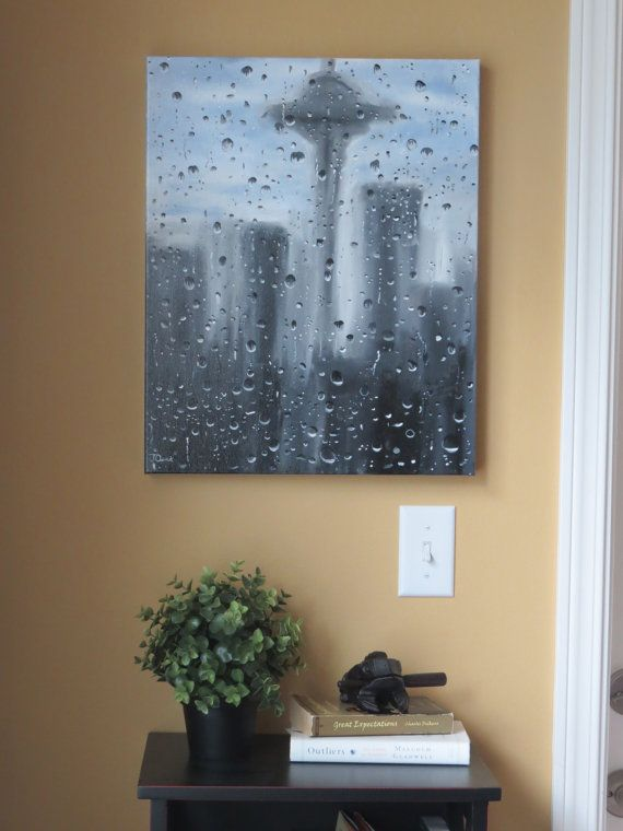 Seattle Art Rain